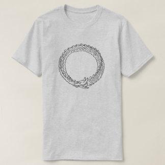 Eeuwige draakcirkel t shirt