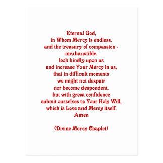 Eeuwige God in wie de Genade Eindeloze… Briefkaart