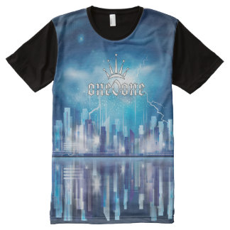 Eeuwige Kroon 101 van de bezinning All-Over-Print T-shirt