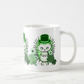 Egel het Gelukkige Iers Koffiemok