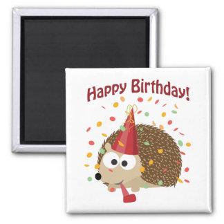 Egel van de Verjaardag van confettien de Gelukkige Magneet