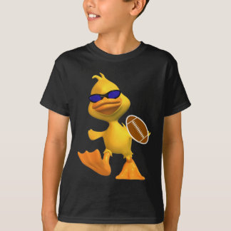 Eggbert het Kind van de Eend koelt de T-shirt van