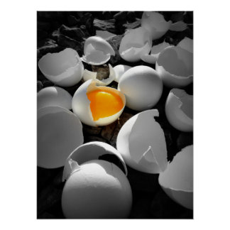 eggcentric: Pasen op de rotsen… Poster
