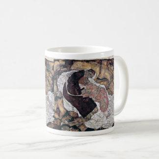 """Egon Schiele , """" Death and the Maiden """" Koffiemok"""