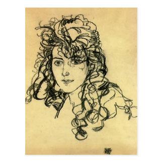 Egon Schiele- Mevrouw Sohn Briefkaart