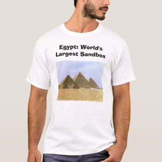 Egypte: De Grootste Zandbak van de wereld T Shirt