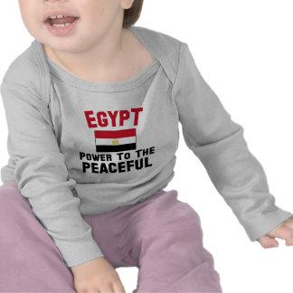 Egypte Macht aan Vreedzaam Shirts
