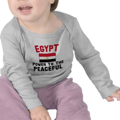 Egypte: Macht aan Vreedzaam Shirts