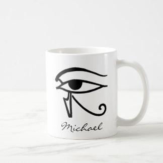 Egyptisch Symbool: Utchat Koffiemok