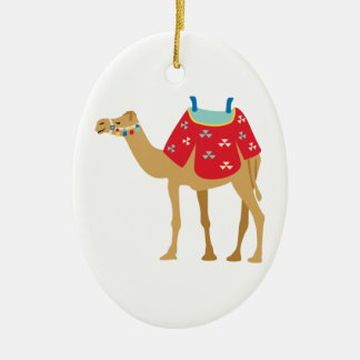 Egyptische Kameel Keramisch Ovaal Ornament