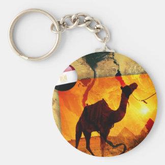 Egyptische kameel sleutelhanger