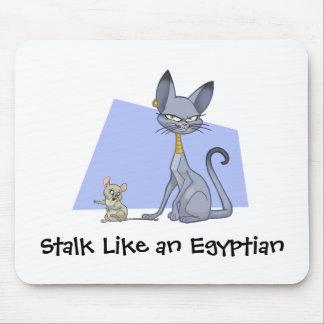 Egyptische Kat Mousepad Muismat