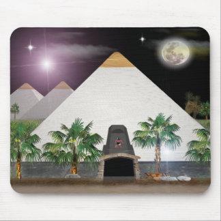 Egyptische piramides muismat