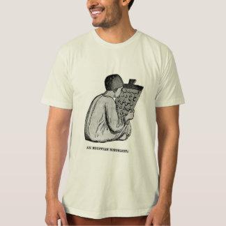 Egyptische Schooljongen - Antiquiteit Gegraveerd T Shirt