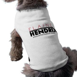 EH het WIT van het T-shirt van Doggie van het Logo