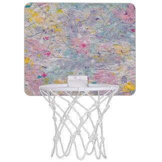 Eigengemaakt Papier met de Kleurrijke Accenten van Mini Basketbalbord