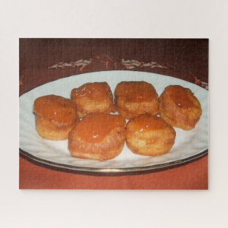 Eigengemaakte Donuts Puzzel