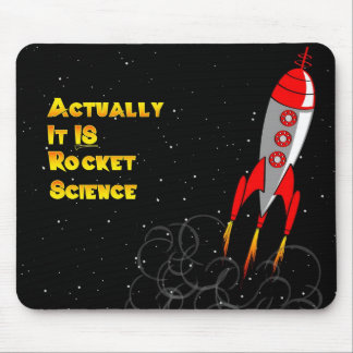 Eigenlijk, IS het de Wetenschap van de Raket Muismat