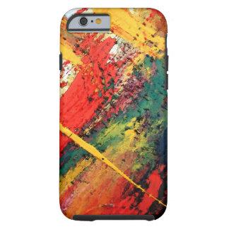Eigentijds Creatief Abstract Kunstwerk Tough iPhone 6 Hoesje