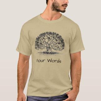 Eiken Boom, Sanscritisch, en Dorje T Shirt