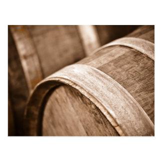 Eiken Wijnvat in Napa Vallei Californië Briefkaart