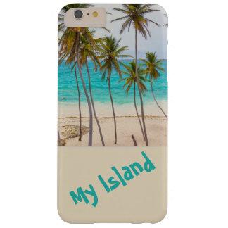Eiland-tropisch-I-telefoon-hoesje Barely There iPhone 6 Plus Hoesje