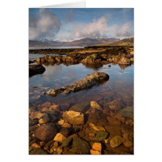 Eiland van kaart Skye
