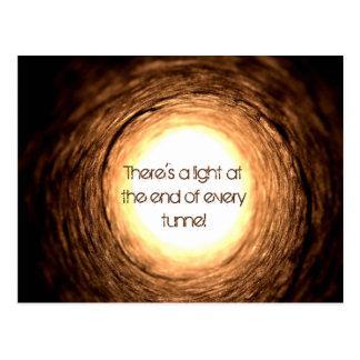 Eind van de Tunnel Wenskaarten