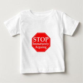 Einde dat #2 stelt baby t shirts