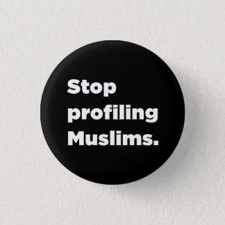 Einde die de Knoop van Moslims profileren Ronde Button 3,2 Cm