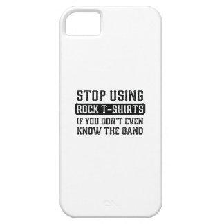 Einde die de T-shirts van de Rots gebruiken Barely There iPhone 5 Hoesje