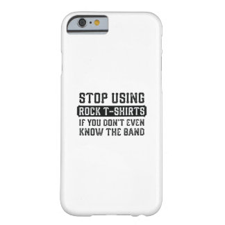 Einde die de T-shirts van de Rots gebruiken Barely There iPhone 6 Hoesje