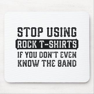 Einde die de T-shirts van de Rots gebruiken Muismat