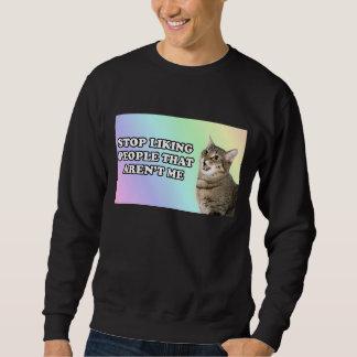 Einde die van mensen houden die niet me zijn trui