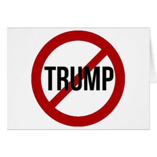 Einde Donald Trump Anti-Trump Kaart