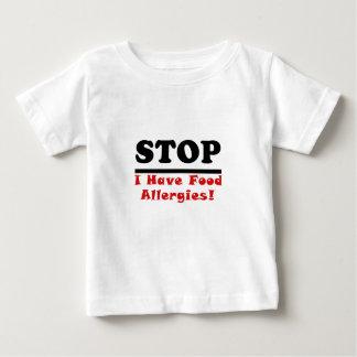 Einde heb ik de Allergieën van het Voedsel Baby T Shirts