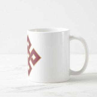 Eindeloze knoop koffiemok