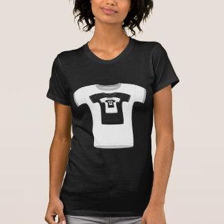 Eindeloze T-shirts (witte versie)