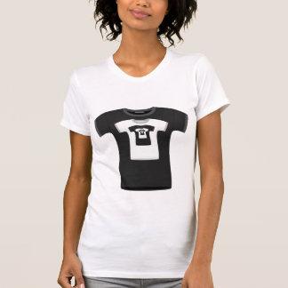 Eindeloze T-shirts (zwarte versie)
