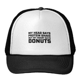 Eiwit Schok of Donuts Trucker Petten