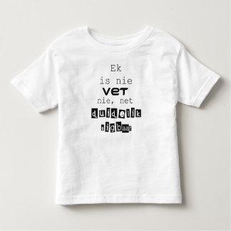 Ek is nie dierenarts nie, netto sigbaar duidelik kinder shirts