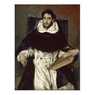 El Greco Portr? t des Fray Hortensio Felix Briefkaart