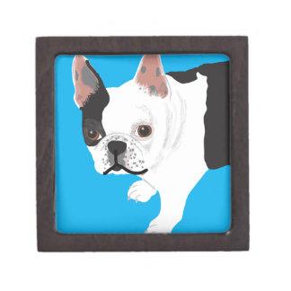 Elaine scharnitzky Boston Terrier Toby Premium Opbergdoosje