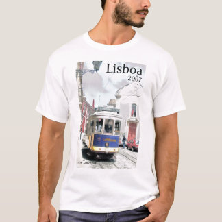 Eléctrico, Lissabon 2007 T Shirt