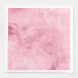 Elegant bloos het Roze Huwelijk van de Textuur van Papieren Servetten