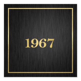 Elegant Goud 1967 Kaart