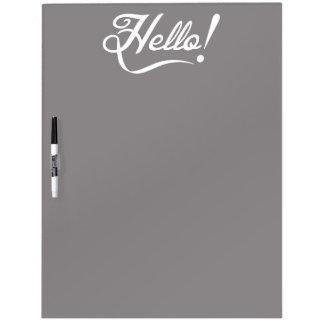 Elegant Hello Whiteboard