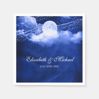 Elegant onder het Huwelijk van het Maanlicht Wegwerp Servet