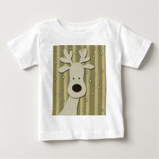 Elegant rendier baby t shirts