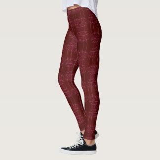 Elegant Rood Leggings
